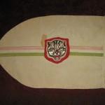 A 12. sz. II. Rákóczi Ferenc cscs., első őrsének, a Tigris Őrsnek, az őrsi zászlója, Cleveland, Ohio.