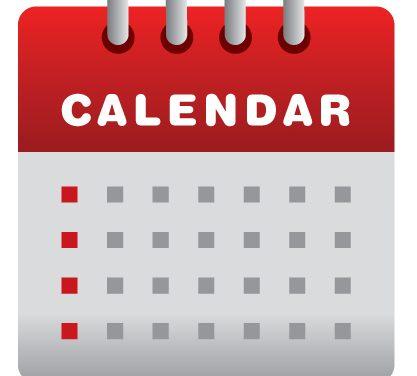 2019 dátum változások