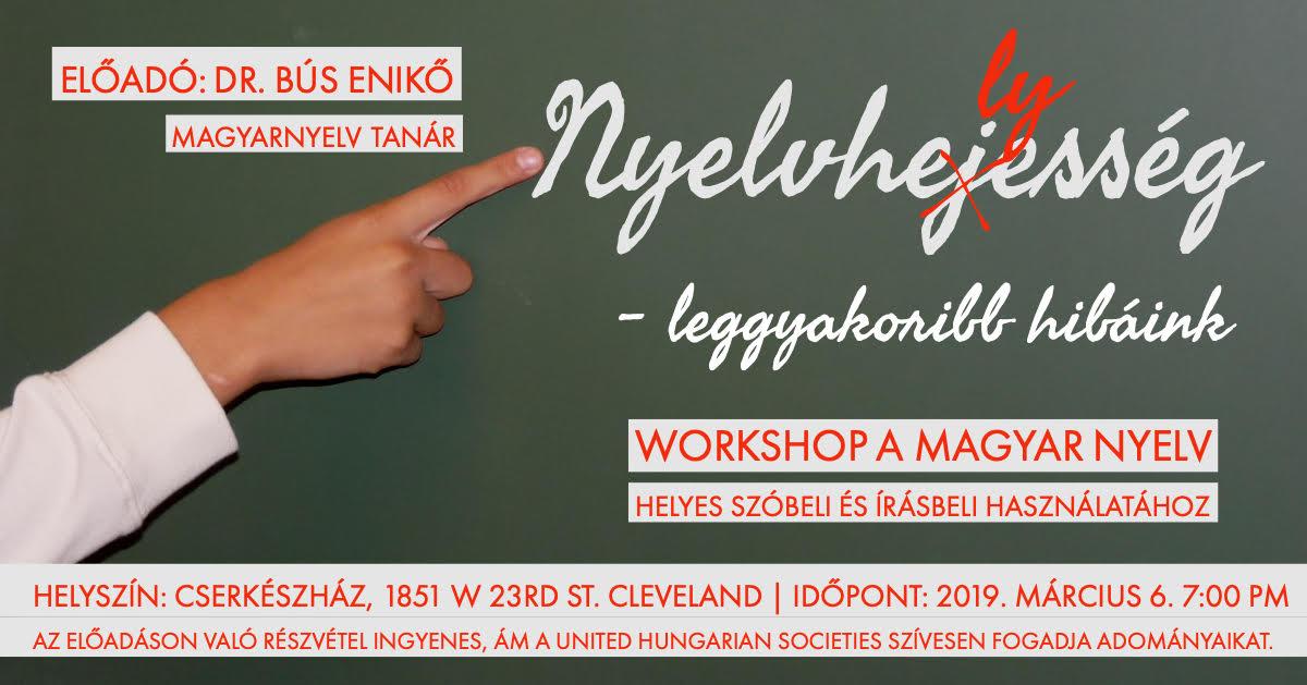 Magyar nyelv helyes használat workshop